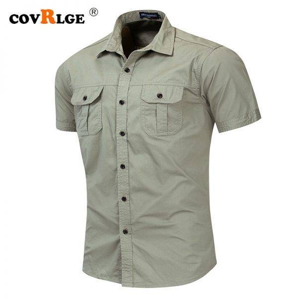 Men's Military Shirt Cargo Shirts