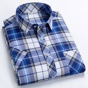 Short Sleeved Leisure Fashion Shirts