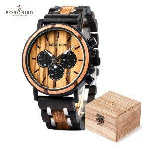 Wooden Waterproof Watches Male Watches