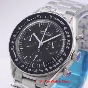 Quartz Men Watch Chronograph Clock