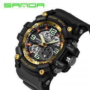 Big Dial Sport Watches For Men