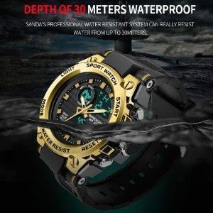 Dual Display Digital Sport Watch