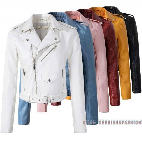 Fashion Women Leather Jackets