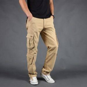 Pocket Cotton Walking Trousers